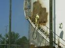 Rafineria Czechowice.Malowanie antykorozyjne zbiorników na paliwa